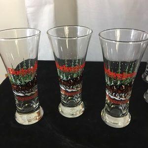 Set of 3 Vtg Budweiser 1992 Pilsner 12 Oz Glass